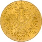Gold Austrian/Hungarian 100 Corona - (.9802 oz of Gold)