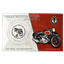 Great Motorcycles of the 1930's: 1937 Ariel 1000 SquareFour .999 Pure Silver Coin by New Zealand Mint