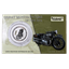 Great Motorcycles of the 30's: Brough Superior SS100 1 oz .999 Silver Coin Produced by the New Zealand Mint