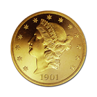 $20 Liberty Gold Double Eagle Coins CU Random Date