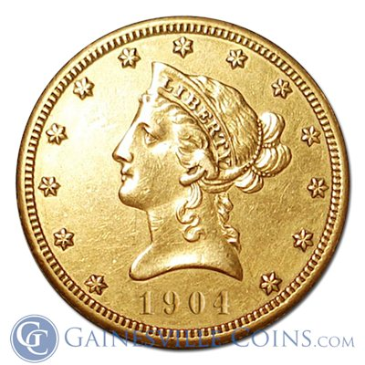 $10 Liberty Gold Eagle (Very Fine)   Random Date