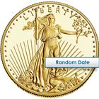 1/2 Oz American Gold Eagle Coin $25 (Random Date)