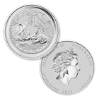 2011 Perth Mint Year of the Rabbit 1 oz Silver 99.9% Pure!