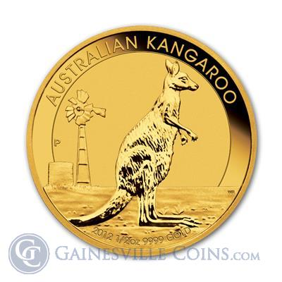 2012 1/2 oz Gold Perth Mint Kangaroo