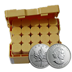 2012 Canadian Silver Maple Leaf Monster Box: 1 oz Brilliant Uncirculated Bullion (500 Coins)