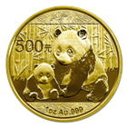 2012 1 oz Gold Chinese Panda Coins (Sealed In Original Mint Plastic)