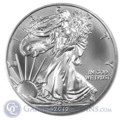 2012 American Silver Eagle Coins | Brilliant Uncirculated Silver Eagle