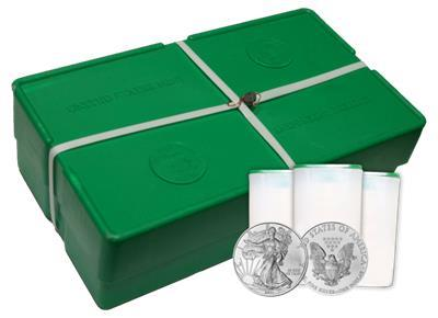 2012 Silver American Eagle 500 Coin Mint Sealed Monster Box: Brilliant Uncirculated Condition