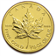 2012 1/10 oz Gold Canadian Maple Leaf  Coins