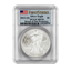 2012-(S) 1 oz Silver American Eagle MS-70 PCGS First Strike (Struck In San Francisco)