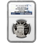 2011 1 oz Platinum American Eagle PF70 NGC (Early Release)