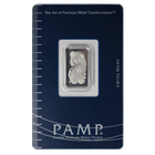 5 Gram PAMP/Credit Suisse Platinum Bar (W/Assay) .9995 Fine