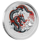 2012 1 oz Australian Silver Dragons: Berlin Coin Show Special (Only 5,000 Minted!)