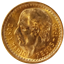 Mexican Gold 2.5 Pesos Coin | - thumbnail