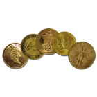 1 oz Low Premium Gold Coin (From One of the Major Mints Around the World)