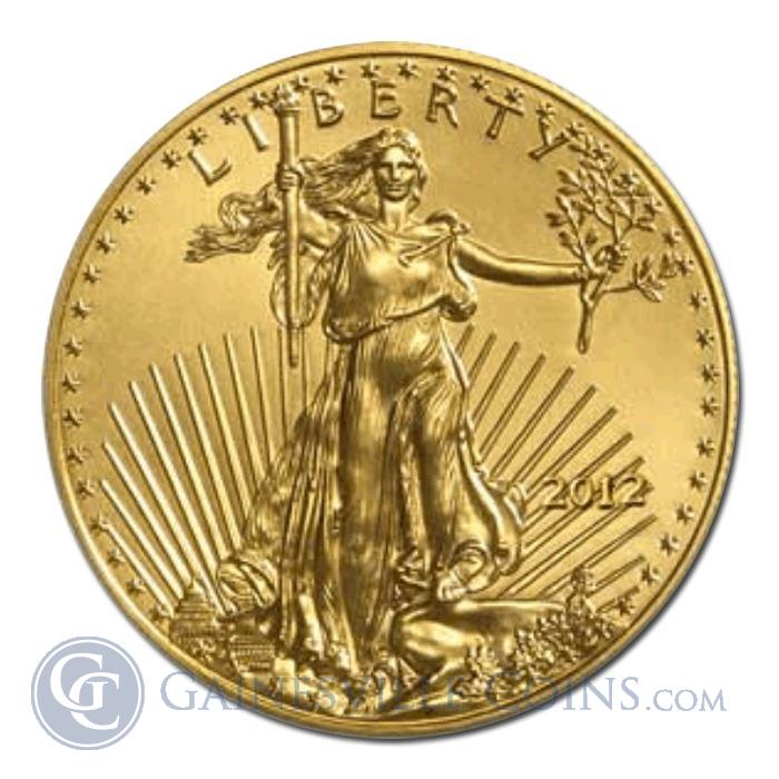 Image Showcase for 2012 1 oz American Gold Eagle (Brilliant Uncirculated) Condition