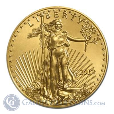 2012 1 oz American Gold Eagle BU Condition