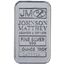 1 oz Johnson Matthey Silver - thumbnail
