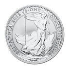 2012 1 oz Silver Britannia Coin | Uncirculated