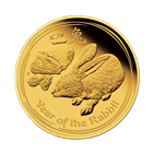 2011 Australian Year of the Rabbit 1/10 oz 24k Gold .9999 Fine!