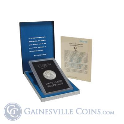 1884-CC GSA Morgan Silver Dollar (With Box and COA)