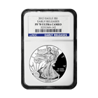 2012 American Silver Eagle NGC PF70 Early Release