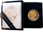 2007-W 1 oz Proof Gold Buffalo (With Box & COA)
