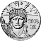2008 1 oz Platinum American Eagle