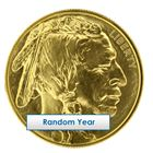 1 oz Gold Buffalo in Mint Sheet - Random Year