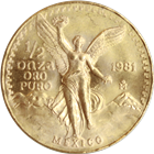 1981 1/2 oz Gold Mexican Onza