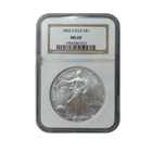 2003 1 oz Silver American Eagle NGC MS69