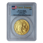 2006 American Buffalo 1 oz Gold Coin PCGS MS69 First Strike