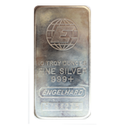 10 oz Engelhard Silver Bar - Tall E (.999 Fine)