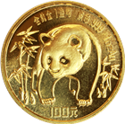 1986 1 oz Gold Chinese Panda