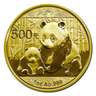2012 1 oz Gold Chinese Panda Coins *(Not sealed in a Mint Sheet)*