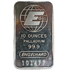 10 oz Engelhard Palladium Bar