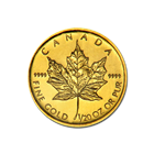 1/20 oz Gold Canadian Maple Leaf Coin - Random Dates