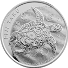 2010 1 oz Silver Fiji Taku .999 Pure Silver New Zealand Mint