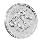 2013 10 Kilo Silver Australian Lunar Year of the Snake Coin (321.5 oz)