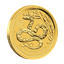 2013 1/4 oz Australian Gold Lunar Year of the Snake Coin