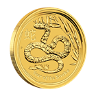 2013 1/10 oz Australian Gold Lunar Year of the Snake Coin