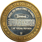 Binions Horseshoe Ten Dollar Gaming Token .999 Silver