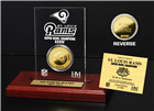 St. Louis Rams SB Champs Etched Acrylic