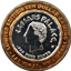 Caesars Palace Ten Dollar Silver Gaming Token .999 Pure Silver