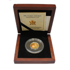 2001 1/4 oz Gold Canadian Maple Leaf Hologram (With Box and COA)