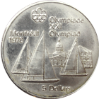 $5 Canadian Olympic Silver Coin (.7227 oz of Silver)