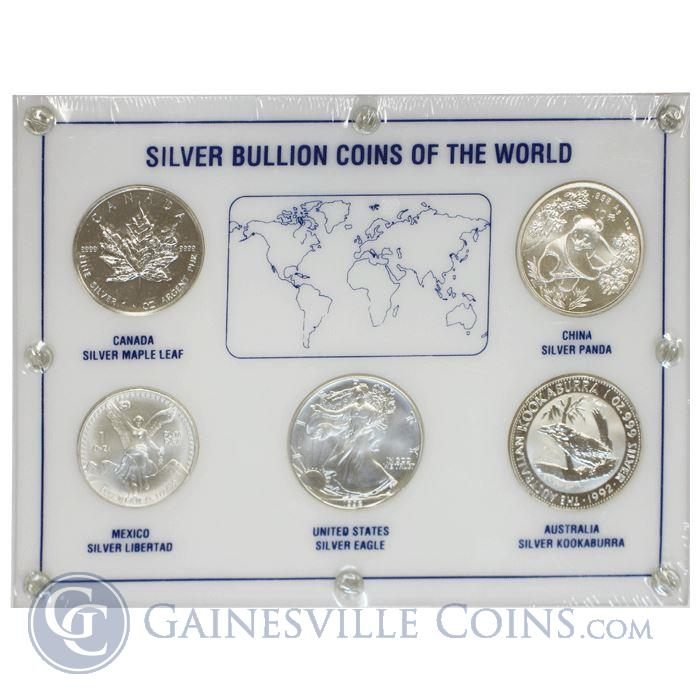 Image Showcase for 1992 1 oz Silver Bullion Coins of the World