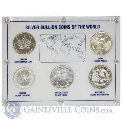 1992 1 oz Silver Bullion Coins of the World