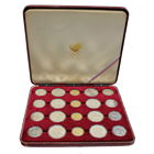 1988 Korea Olympic 20 Coin Gold and Silver Set (2 oz of Gold & 12 oz of Silver)