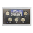 WWII Mercury Dime 5-Coin Silver Set